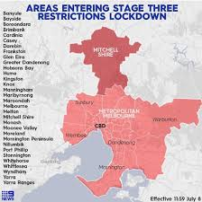 A strict lockdown in the australian city of melbourne has been extended by two weeks, with officials saying new the greater melbourne area entered a second lockdown on 9 july after a rise in cases. Coronavirus Victoria 134 New Cases Of Covid 19 Hours Before Stage Three Lockdown