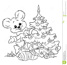 Christmas Ornament Coloring Pages Christmas Teddy