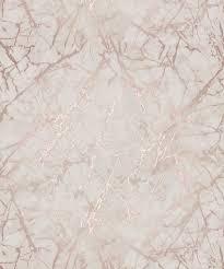 fine decor marblesque metallic marble rose gold wallpaper