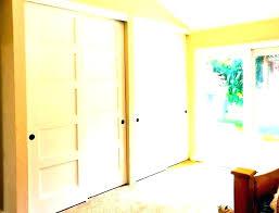 hanging sliding closet doors wood