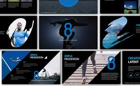 creative powerpoint templates eight creative presentation powerpoint template 67142