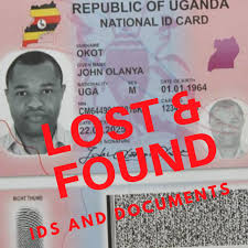 Lost Documents Uganda - Found And Facebook Home Ids