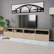 Tidyard <b>TV Cabinets 2 pcs</b> TV Stand Unit with Storage Cabinets ...