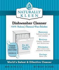 Dishwasher Brands Naturally Kleen Brands Dishwasher Cleaner
