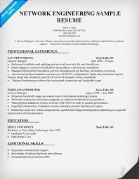 Network Engineer Resume Cool Network Engineering Resume Sample Resumecompanion Resume