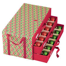 Container Store Ornament Storage New Trim The Tree With Efficiency Thanks To This Welldesigned Chest It