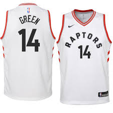 Green White Danny Raptors Jersey 2018-19 Youth