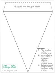 Free Pennant Banner Template Download Free Clip Art Free