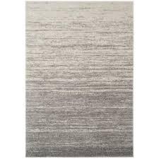 adirondack light gray gray 5 ft x 8 ft area rug