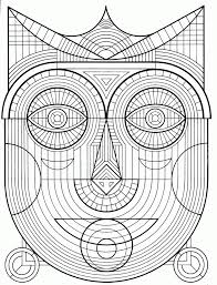 Coloring Pages Free Printable Geometric Coloring Pages For Adults
