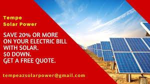 Best Solar Installation Companies In Tempe AZ- Solar Panels Tempe Arizona