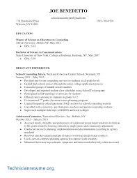 Counseling Resume Stunning R Sum Animal Farm Technician Resume CV