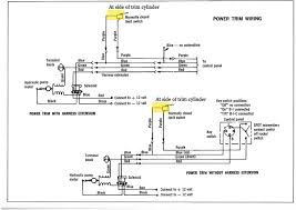 tilt trim problem 1974? mercury 1500 page 1 iboats boating forums cmc tilt and trim wiring diagram here's the wiring diagram for the single solenoid model click image for larger version name power trim wiring jpg views