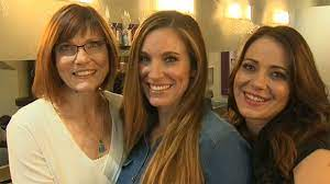 Salon styles up Calgary mother and daughters to celebrate new start | CTV  News