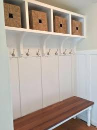 Mudroom Coat Rack Royce All In One Mudroom Storage Hall Tree Entryway With Bench Hooks 23