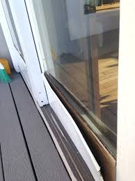 remove sliding glass door frame decor weatherstripping o doors design within how to patio