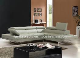 back modern grey sectional leather sofa