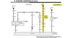 2001 f 250 5 4l 2 upstream o2 sensors near manifold, there misfire 5 wire oxygen sensor wiring diagram at Oxygen Sensor Wiring Diagram Ford
