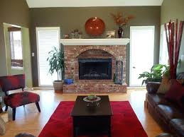 brick fireplace decor living room red brick fireplace decor formal living room living room designs decorating brick fireplace