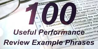 Employee Performance Appraisal Phrases Job Knowledge Pdf Review ...