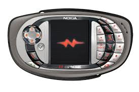 look at it it s like a game gear had with a cell phone and nine months later the n e was born skateboarding