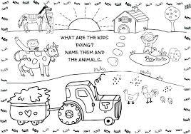 Farm Coloring Pages Preschool Farm Coloring Sheets Printable Farm