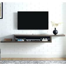 wall mounted component shelf wall mounted shelves under shelf for cable box fantastic luxury good