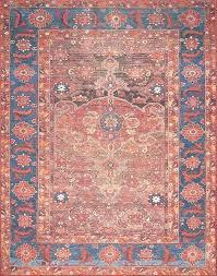 orange and blue area rug rust colored rugs rust blue area rug magnolia home by orange