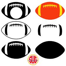 Football Svg Designs Football Monogram Png Free Football Monogram Png
