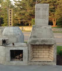 outdoor fireplace how to build an with cinder blocks kits building 20