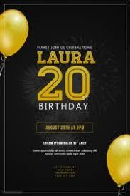 invitation flyer 5 500 customizable design templates for birthday invitation