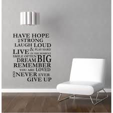 inspirational quote wall stickers family lettering wall decals motivational wall quotes never give up quote stickers g08033 in wall stickers from home  on lettering wall art quotes with inspirational quote wall stickers family lettering wall decals