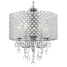 chandeliers mid century modern chrome chandelier crystal chrome chandelier pendant light with crystal beaded drum