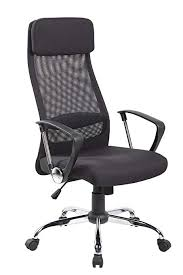 modern executive office chairs. Delighful Office Kerland Modern High Back Mesh Executive Office Chair With Arms In Black  Ergonomic Adjustable Swivel Chairs