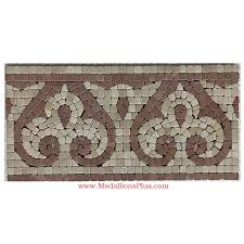 Listellos And Decorative Tile Lane Honed Mosaic Tile Listello 10087100 x 100 MedallionsPlus 81