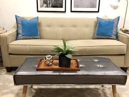 blue linen pillow cover with marine