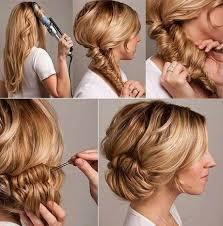 Image Coiffure Facile A Faire Soi Meme Sur Cheveux Mi Long