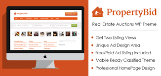 Auction Website Template Wonderful Property Bid Real Estate Auctions WordPress Theme InkThemes