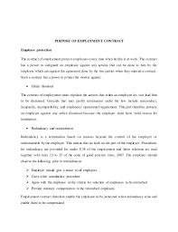 Breach Of Employment Contract Interesting Nature Of Employment Contract MoCU University