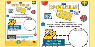 Pudsey Room Children Blush - Cin Need In Bbc Free Poster Staff