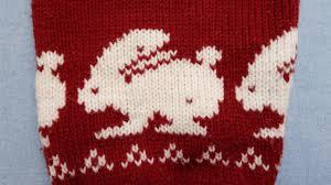 Souten Ki Design Rabbit Design For Sweater