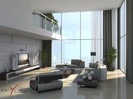 Designs by Style: Slographic Black White Living Room - Masculine Room