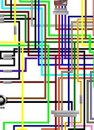 yamaha xv535 virago 1992 03 uk spec colour wiring loom diagram yamaha xv535 virago 1992 03 uk spec colour wiring diagram