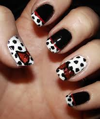 Picture 3 of 11 - Black And White French Tip Nail Designs - Photo ...