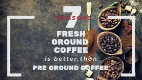 Caribou ground coffee is a popular brand of espresso and specialty coffee products and coffee shops based out of minnesota. Fresh Ground Coffee 7 Reasons Why It Is Better Than Pre Ground Coffee