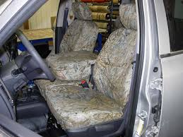 duck blind camo seat covers