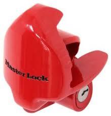 ball hitch lock. master lock trailer coupler - 1-7/8\ ball hitch r