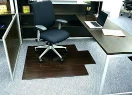 bamboo office chair mat mountain