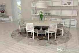 round gray and brown leather patchwork cowhide rug squares design office carpet s car pets from gray cowhide rug