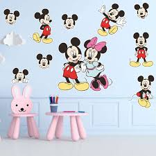 mickey mouse wall stickers for boys